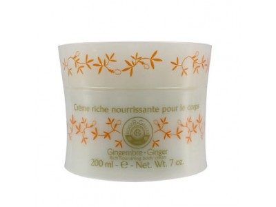 Roger Gallet Crema Corporal Nutritiva Perfumada 200ml Gingembre