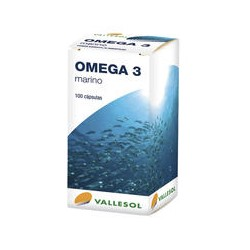 Vallesol Omega 3 Marino 100 Cápsulas
