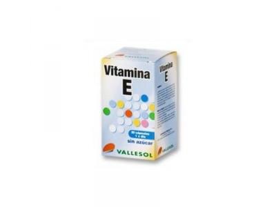 Vallesol Vitamina E 30 Cápsulas