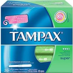 Tampax Tampón Super 30 uds.