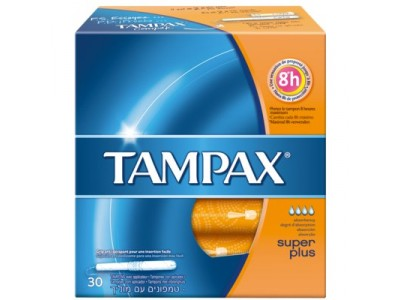 Tampax Tampón Super Plus 30 uds.