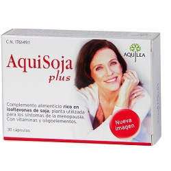 Aquisoja Plus 30 Cápsulas