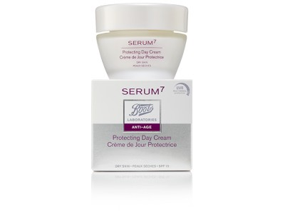 Serum7 Crema Día Protectora Antiarrugas SPF15 50ml P.N/Mx