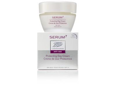 Serum7 Crema Día Protectora Antiarrugas SPF15 50ml P.Seca