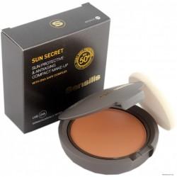 Sensilis Sun Secret Maquillaje Compacto SPF50 Bronce