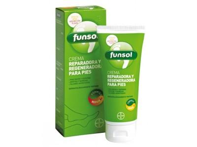 Funsol Crema Reparadora y Regeneradora Pies 100ml