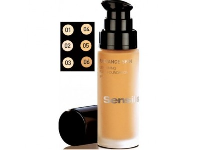 Sensilis Radiance Skin Lightening SPF-15 Base de Maquillaje Cacao