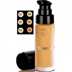Sensilis Radiance Skin Lightening SPF-15 Base de Maquillaje Café