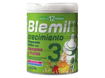 Blemil Plus 3 Crecimiento con Cereales y Frutas 800g