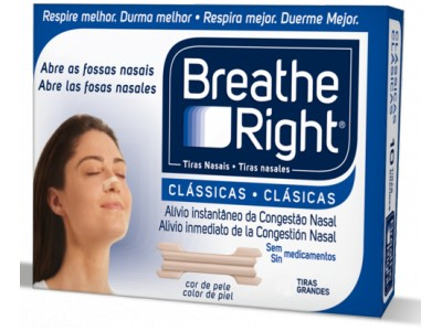 Tiras Nasal Breathe Right Grande 30 uds.
