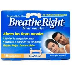 Breathe Right Clasic 10 Tiras Pequeñas