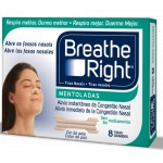 BREATHE RIGHT MENTOL 8 TIRAS GRANDES