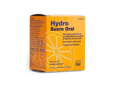 Hydro Oral Suero Sabor Naranja 8 Sobres