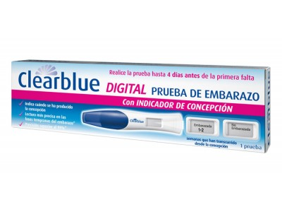 Test Embarazo Clearblue Digital Ct