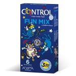 CONTROL PRESERVATIVOS FUN MIX 6 UNIDADES