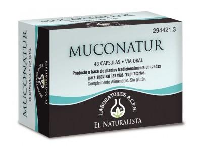 El Naturalista Muconatur 48 Cápsulas
