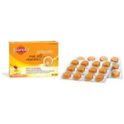 Juanola Propolis con Miel Zinc Vitamina C 24 Pastillas