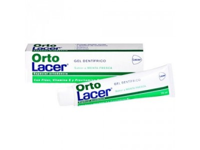 Ortolacer Gel Dental Menta 75ml