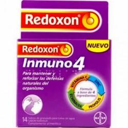 Redoxon Inmuno4 14 Sobres Granulado Sabor Naranja