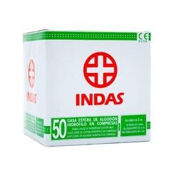 Indas Compresa de Gasa Esteril 50 uds.