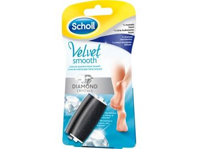 Scholl Lima Recambio Velvet Mixto 2 uds.