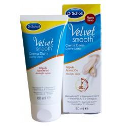 Scholl Velvet Crema Diaria 60ml Rápida Adsorción