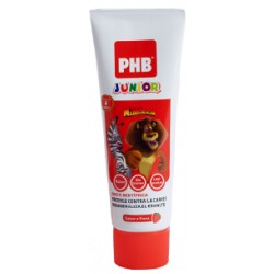 PHB JUNIOR PASTA DE FRESA 6-9 AÑOS 75 ML