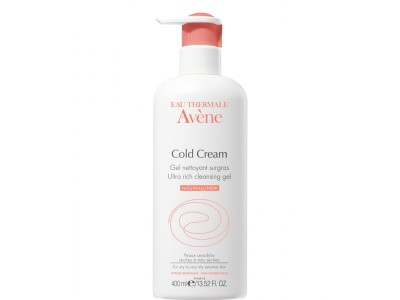 Avene Gel Limpiador Cold Cream 400ml