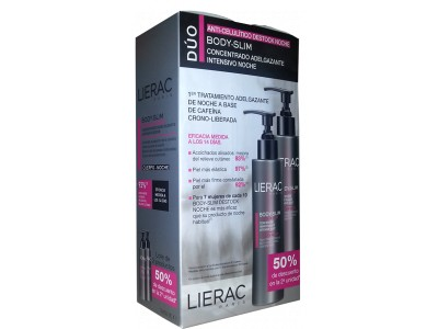 Lierac Body Slim Anticelulítico Intensivo Noche 200ml 2 uds.