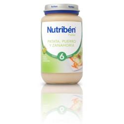Nutriben Potito Patata Puerro Zanahoria 250g
