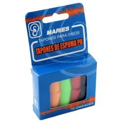 Tapones de Espuma Maries 10 uds.