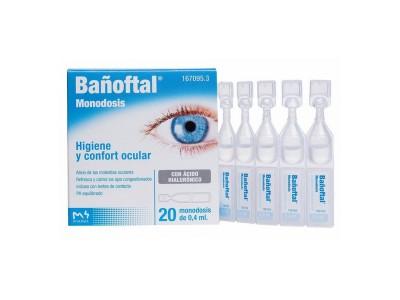 Bañoftal Baño Ocular 20 Monodosis 0,4ml