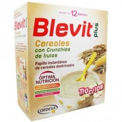 Blevit Plus Trocitos Cereales con Crunchies de Frutas 600g