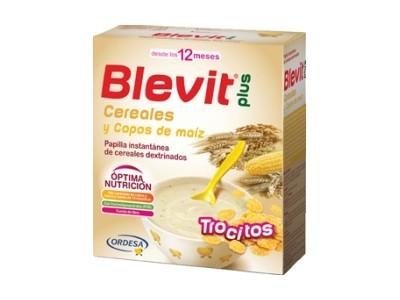 Blevit Plus Trocitos Cereales y Copos Maiz 600g