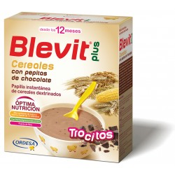 BLEVIT PLUS CEREALES CON PEPITAS DE CHOCOLATE 600GR