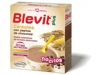 Blevit Plus Cereales con Pepitas de Chocolate 600g