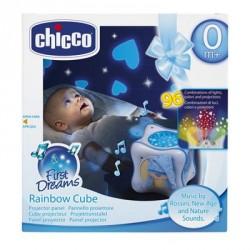 Chicco Juguete Cubo Arco Iris Azul Musical