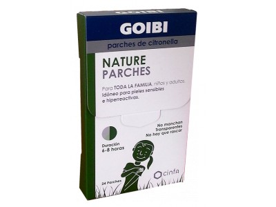 Goibi Nature Parches de Citronella Anti-Mosquitos 24 uds.