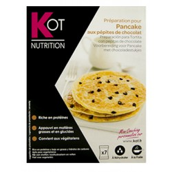 Kot Preparación Tortita Pancake con Pepitas Chocolate