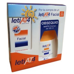 Leti At4 Pack Premium Facial SPF20 50ml + Champú 100ml