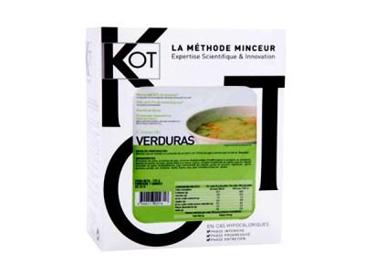 Kot Preparación Crema de Verduras 7 Sobres
