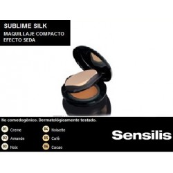 Sensilis Sublime Make-Up Effect Cream Maquillaje Compacto Cafe 1