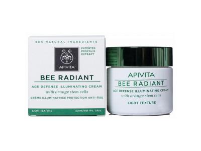 Apivita Bee Radiant Crema Iluminadora Ligera 50ml