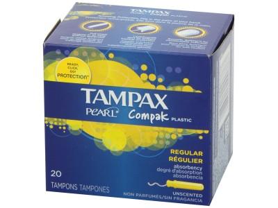 Tampax Compak Tampon Regular 20 uds.