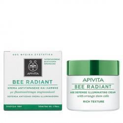 Apivita Bee Radiant Crema Iluminadora Rica 50ml