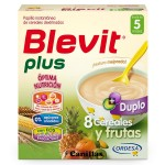 BLEVIT PLUS 8 CEREALES Y FRUTAS 600 GR