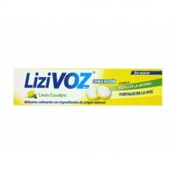 Lizivoz Limón-Eucalipto Sin Azúcar 18 Pastillas