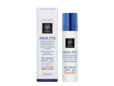 Apivita BB Cream Aqua Vita SPF20 Light 40ml