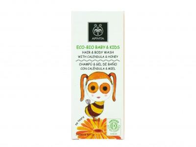 Apivita Eco-Bio Baby Champú y Gel 200ml