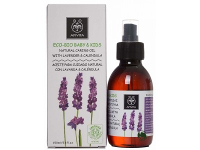 Apivita Eco-Bio Aceite Lavanda y Calendula 150ml
